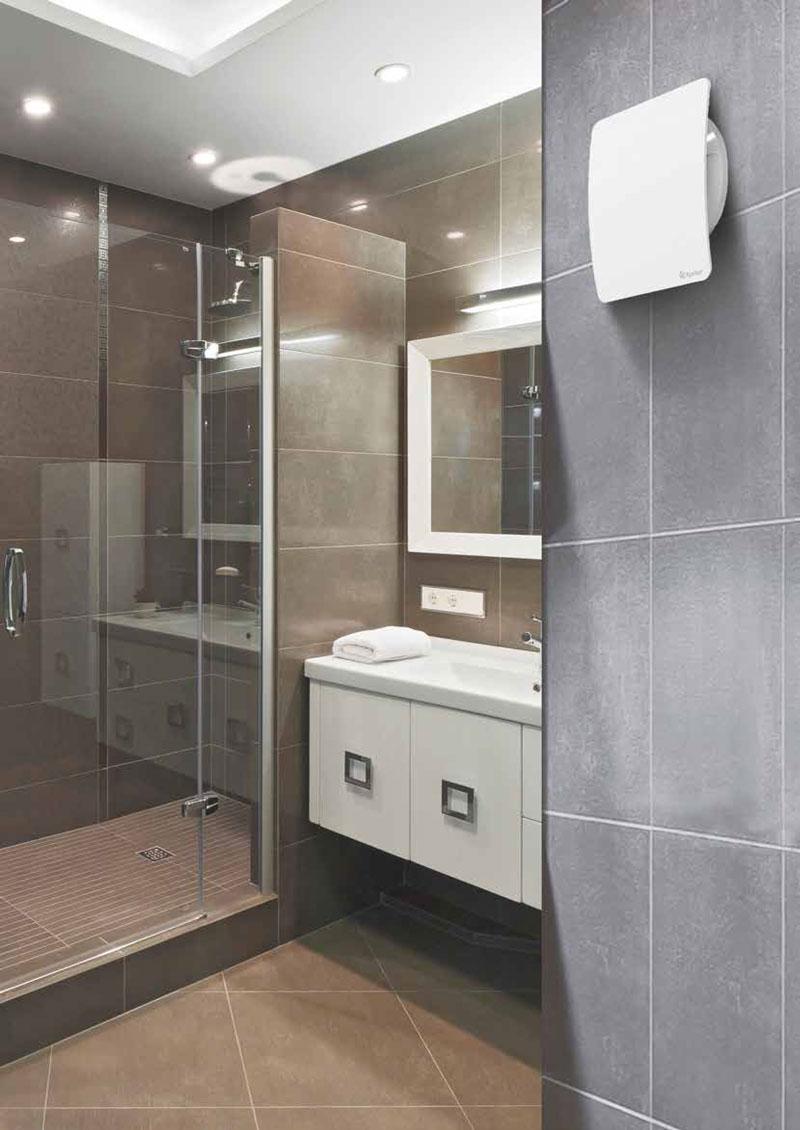 xpelair- kylpyhuonetuuletin poistopuhallin kylpyhuoneessa = hyvä huoneilma